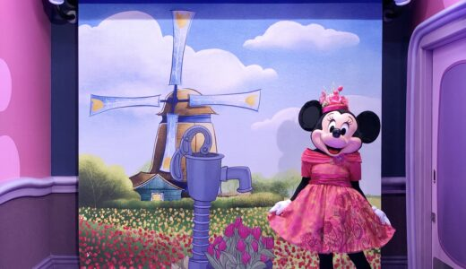 【TDL】ミニーのスタイルスタジオで可愛すぎる春服ミニーちゃんに会ってきた!