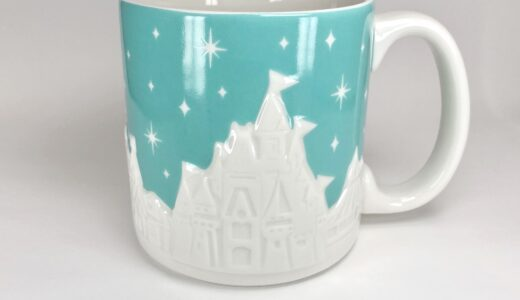 【TDL/TDS】ディズニーの風景が可愛いマグカップ!大きいからスープにも使えそう?
