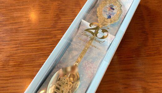 ミッキーと東京ディズニーシー20周年のロゴが素敵なスーベニアスプーン